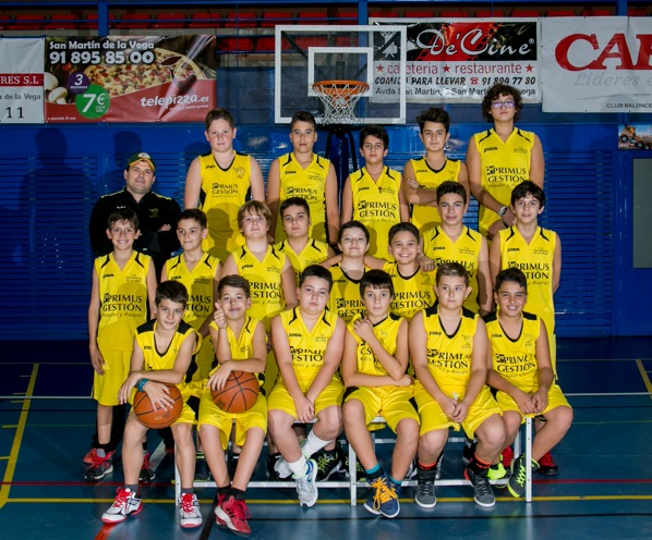 equipo infantil masculino 2005