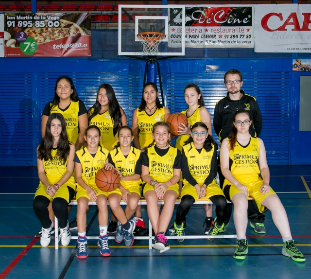 equipo infantil femenino